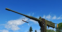 Browning M2 .50 cal Machine Gun (Replica) (Custom_Cab) Tags: browning m2 50 cal caliber machine gun army military us usa united states jeep heavy cj2a willys overland willysoverland 19 s 20170813 1946 1947 1948 1949