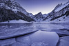 The frozen lake (Martin Häfeli Photography) Tags: coveredbysnow covered snow schnee bergsee see lake mountainscape winterwonderland winter blue blauestunde bluehour kalt cold freeze frozen d7200 nikon switzerland schweiz appenzellerland appenzell alpstein mountains berg