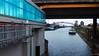Blue & Orange (frankdorgathen) Tags: blue orange building ship bridge water harbor duisburg ruhrgebiet industry pier quay urban town city crane