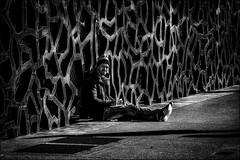 Bien-aimé Mucem.../Well-beloved Mucem... (vedebe) Tags: humain human people homme ville street rue city urbain urban architecture art musée mucem noiretblanc netb nb bw monochrome marseille provence france