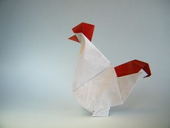 Rooster - Joseph Wu (Rui.Roda) Tags: origami papiroflexia papierfalten galo gallo coq rooster joseph wu