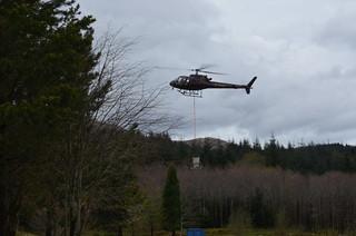 Helicopter, Nevis Range, Ben Nevis