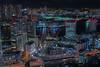 Shibaura Area (703) Tags: japan pentaxk3ii seasidetop shiodome tokyo wtc wtctokyo worldtradecenter worldtradecentertokyo worldtradecentre buildings cityscape night nightscape nightscene nightview シーサイドトップ 世界貿易センタービル 夜景 大門 日本 東京 汐留 浜松町 貿易センタービル 港区