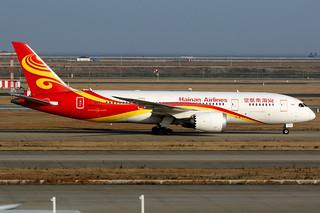 Hainan Airlines | Boeing 787-8 | B-2729 | Shanghai Pudong