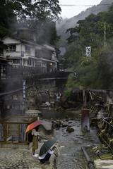 Yunomine Onsen in the Rain (Michael Laudij) Tags: michaellaudij yunomineonsen onsen hotspring japan nikon