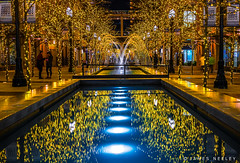 City Creek (James Neeley) Tags: symmetry utah saltlakecity citycenter fountain lowlight jamesneeley
