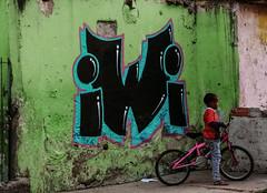 Brasilândia (Maysa Marin) Tags: graffiti art street streetphotography kid childhood child colors colored bike composition wu tang nei neighborhood