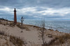 Little Sable Point Lighthouse (Tom Gill.) Tags: lighthouse michigan beach dune littlesablepoint winter lakemichigan greatlakes