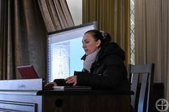 В Минской духовной академии состоялась лекции преподавателя Харьковской государственной академии дизайна и искусства Матвеевой Ю. Г.