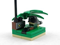 Forward Observer (Deltassius) Tags: mobile frame zero stations microscale lego war military 1920 scout spy microfigure