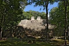 Temple Ruin At Balamku Ancient Mayan Site (elhawk) Tags: mexico campeche balamku pyramid ruin temple maya