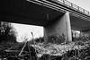 Under the bridge (grundi1) Tags: sony alpha 68 ilca sigma 1770 f2845 bad erlach winter weis white blackandwhite schwarzweis riverbed schwarza vanagram