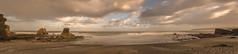 La playa. (Amparo Hervella) Tags: playadelportizuelo asturias españa spain paisaje panorámica nube playa roca largaexposición naturaleza color d7000 nikon nikond7000 comunidadespañola