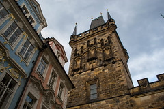 The Lesser Town : Bridge Tower (Romane Licour) Tags: lesser lessertown bridgetower traditional tower oldtown lessertownbridgetower pr prague praha czech czechrepublic architecture citytrip cityscape