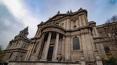 St Paul's Cathedral (AmerIdrisfilm) Tags: media cinematography photograph photography a7s camera creativearchitecture arkiromantix archimasters excellentstructure contemporaryart modern sketch london uk history ancient greenwich