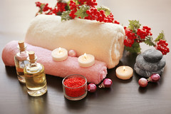 Spa treatment with Christmas decorations on wooden background (skyadsvietnam) Tags: aromatherapy aromatic background ball bath bathroom beauty berry body bottle branch candle care christmas closeup concept decoration decorations exotic health healthy holiday luxury massage natural nature objects oil oriental pearls petal pine relax relaxation salon shower spa stone therapy towel traditional treatment tree wellbeing wellness white wooden xmas ukraine