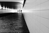Three to Tango (*Chris van Dolleweerd*) Tags: street streetphotography bw mono tunnel pov lines chrisvandolleweerd people architecture urban city