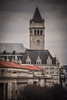 Old Post Office Clock Tower viewed from The Newseum - Washington DC (mbell1975) Tags: washington districtofcolumbia unitedstates us old post office clock tower viewed from the newseum dc washingtondc usa america american clocktower turm postoffice