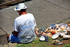 He sells sea shells by the sea shores. (Ian Ramsay Photographics) Tags: kiama newsouthwales australia sells sea shells shores