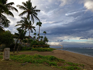 Lahaina after the Hurricane 2014 (Hurricane Iselle)