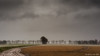 Sad landscape (© Jenco van Zalk) Tags: landsape nature flevoland agricultural flatland polder sad deserted winter netherlands clouds rain storm wind