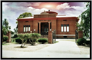 Phoenix  Arizona  - Carnegie Public Library - Historic