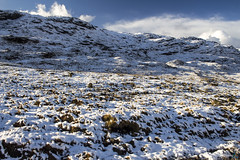 Harris Winter Wonderland (gmrphoto) Tags: canon autumn fall photography nature scotland isleoflewis outerhebrides eos landscape sun clouds storm snow winter isleofharris snowscapes mountains