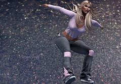Jump ! (anarinya.crystal) Tags: bauhausmovement blueberry tableauvivant vinyl valekoer