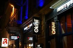 Okinii Sushi&Grill (BphotoR) Tags: signs sign schild leuchtreklame sushi sushigrill bphotor night okinii japanese