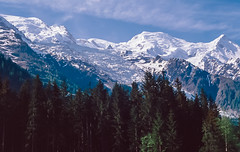 Mont Blanc and the French Alps: Chamonix 1993 (mharoldsewell) Tags: 1993 2018 chamonix france frenchalps georgia montblanc snow mharoldsewell mikesewell photos slid