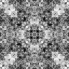 0956906765 (michaelpeditto) Tags: art symmetry carpet tile design geometry computer generated black white pattern