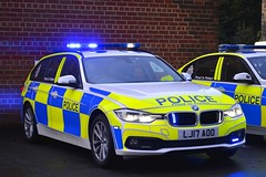 LJ17 AOO (S11 AUN) Tags: northumbria police bmw 330d 3series xdrive estate touring anpr traffic supervision supervisor car roads policing unit rpu motor patrols 999 emergency vehicle lj17aoo
