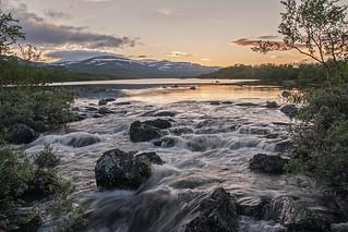Siilasjoki Kilpisjärvellä