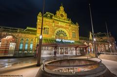Centraal Station Groningen op 30 december 2017