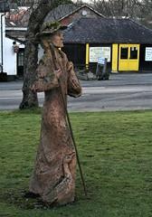 Shepherd With Ducks (Canis Major) Tags: statue shepherd ducks butcher wales 500 newbridgeonwye 1000 2000 5000