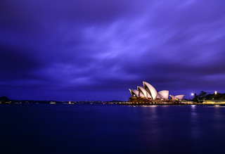 The Beautiful Cloudy Sydney
