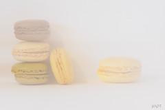 Double exposured macarons (*mirt) Tags: macromondays highkey closeup food candy macarons doubleexposure
