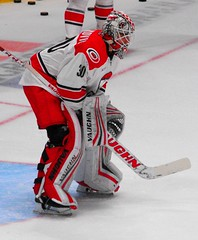 B9304 Alex Nedeljkovic of the Checkers (sabre11richard) Tags: american hockey league minor ice sport goalie goaltender nc