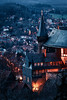 Tower of castle (Gruenewiese86) Tags: schloss wernigerode winter sachsenanhalt germany german deutschland deutsch travel destination night nightlight castle