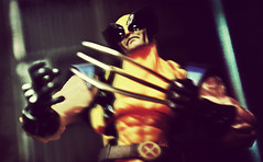 Wolverine (RK*Pictures) Tags: marvel blood black violence comic comicbooks stanlee actionfigure action kill toy comicbook brutal cruel dark experiment weapon x weaponx logan mutant wolverine isolated killingmachine control mindless adamantiumbondingprocess adamantium clawextraction claws flesh program graphicnovel secret canada animal beast subject humanity government research livingweapon weaponxproject superhero enhancedphysicalcapabilities animalkeensenses healingfactor wild xmen sharp deadly rkpictures jameshowlett revoltech amazingyamaguchi toyphotography actionfigurephotography snikt yellow