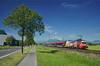 RJ 865 @ Hohenems (Wesley van Drongelen) Tags: öbb obb oebb österreichische oesterreichische osterreichische bundesbahnen rj railjet série serie br baureihe class type rh 1116 taurus werbelok werbetaurus öamtc 153 hohenems trein train zug