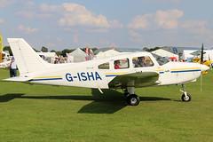 G-ISHA (GH@BHD) Tags: gisha piper pa28 cherokee warrior laa laarally laarally2017 sywellairfield sywell aircraft aviation