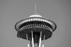 Space Needle, Seattle Landmark, Washington, USA (takasphoto.com) Tags: apsc america bw blackwhite blackandwhite blancoynegro city color eeuu estadosunidos fuji fujixt1 fujixt1fujifilm fujifilm fujinon fujinonlensxf18135mmf3556rlmoiswr fujinonxf18135mmf3556rlmoiswr kingcounty landmark lens metropolitanarea mirrorless mirrorlesscamera monochrome noiretblanc nordouestdesétatsunis noroestepacífico noroestedelpacífico northamerica northwest observationtower observatory pnw pacific pacificnorthwest pacificocean pazifischernordwesten rockymountains schwarzweisfotografie seaport seattle spaceneedle street streetphotography streetscape tower usa usaunitedstatesofamerica unitedstates unitedstatesofamerica wa washington washingtonstate westcoast worldsfair wybrzeżepółnocnozachodnie xmount xt1 xtranscmosii xtransii xf18135