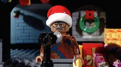 Happy Merry New Year https://youtu.be/247HzyURRtM (woodrowvillage) Tags: lego christmas holiday new year eve nye minifigure mini figure legos brick display party brickfilm animation still funny