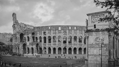 Colosseum, Rome (Sajivrochergurung) Tags: rome history blackandwhite italy