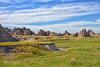 Badlands of Dakota (Jim Johnston (OKC)) Tags: badlands southdakota rockformations clouds