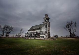 Hurricane Lake church