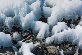 Melting Snow at Matanuska Glacier