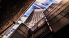 Melbourne Skyscraper (Chas56) Tags: melbourne building skyscraper buildings architecture clouds sky longexposure movement canon 5d mkiii textures lines shapes city windows wall alley geometry
