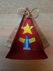 Kerststalletje 1 (Marjan 8) Tags: paper origami paperfolding kerststalletje crib engel angel ster star